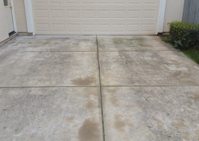 Concrete Cleaning Before & After